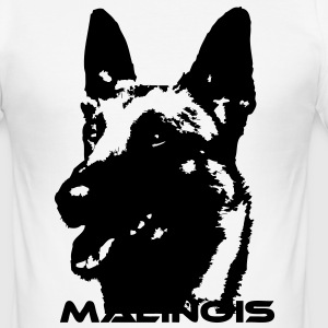 Malinois T-Shirts - Männer Slim Fit T-Shirt