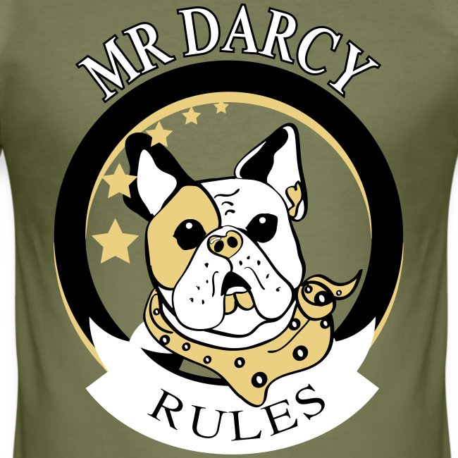 MR DARCY RULES Hanes Slim Fit Herren
