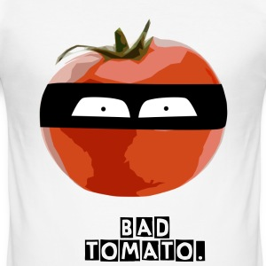 Bad Tomato. - Männer Slim Fit T-Shirt