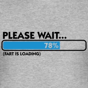 Fart Is Loading (dd)++ T-shirts - Slim Fit T-shirt herr