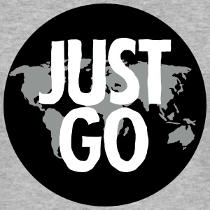 Just Go (Travel) T-Shirts - Men's Slim Fit T-Shirt