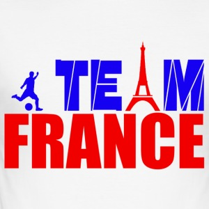 team france T-skjorter - Slim Fit T-skjorte for menn