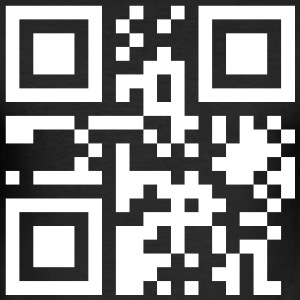 nerd_qrcode_1c T-Shirts - Men's Slim Fit T-Shirt