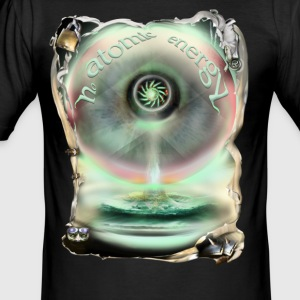 no atomic energy T-shirts - slim fit T-shirt