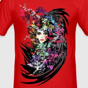 Carnival woman Men's slim fit T-shirt - Men's Slim Fit T-Shirt