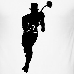 Lucky Chimney Sweep T-shirts - Herre Slim Fit T-Shirt