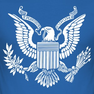 United States Great Seal T-Shirts - Men's Slim Fit T-Shirt