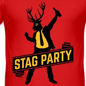 Stag Party / Bachelor Party (2C) T-Shirts - Men's Slim Fit T-Shirt