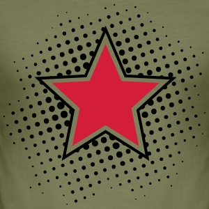 Star, Dots, Hero, Winner, Champion, Member, Team, T-shirts - slim fit T-shirt