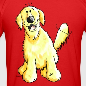 Grappige Golden Retriever - Hond - Honden T-shirts - slim fit T-shirt