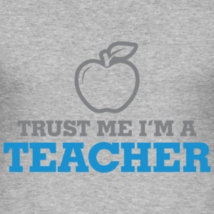 Trust Me Teacher 2 (dd)++ T-shirts - Herre Slim Fit T-Shirt