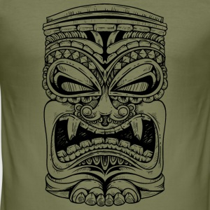 Tiki Tiki Polynesian T-Shirts - Men's Slim Fit T-Shirt