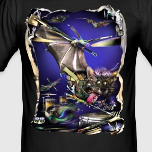 batdrummer T-shirts - slim fit T-shirt
