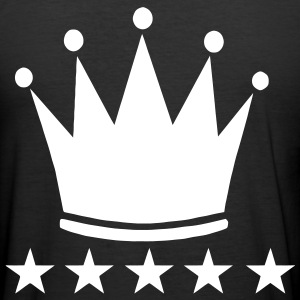 Crown ***** 5 stars T-Shirts - Männer Slim Fit T-Shirt