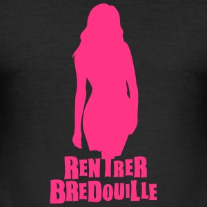 rentrer bredouille expression Tee shirts - Tee shirt près du corps Homme