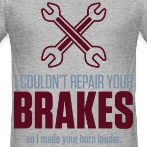 Repair Your Brakes 2 (dd)++ T-shirts - slim fit T-shirt