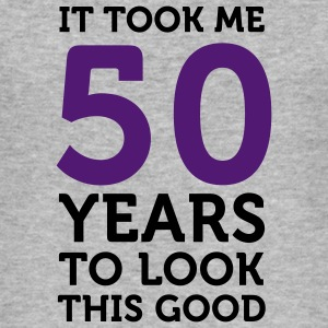 50 Years To Look Good 1 (2c)++ T-Shirts - Men's Slim Fit T-Shirt
