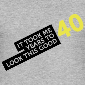 40 Years To Look Good 2 (2c)++ T-Shirts - Männer Slim Fit T-Shirt