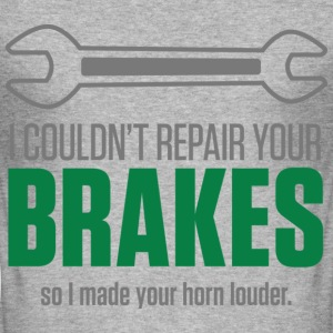 Repair Your Brakes 1 (dd)++ T-shirts - slim fit T-shirt
