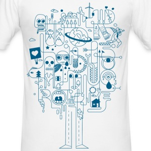 Creative T-Shirts - Männer Slim Fit T-Shirt