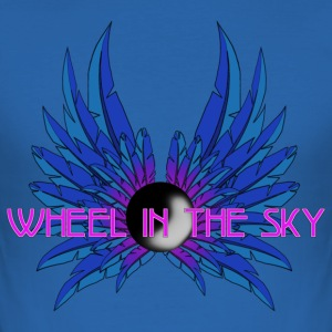 Wheel in the Sky - Männer Slim Fit T-Shirt