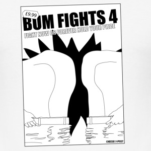 bum fights T-Shirts - Men's Slim Fit T-Shirt