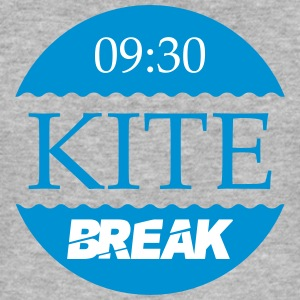 Kite Break - Männer Slim Fit T-Shirt