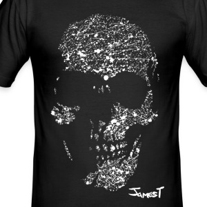 Skull T-Shirt - Men's Slim Fit T-Shirt