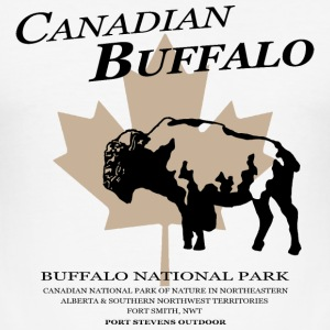 Canadian Buffalo T-Shirts - Männer Slim Fit T-Shirt