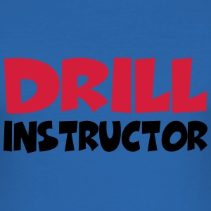 Drill Instructor Camisetas - Camiseta ajustada hombre