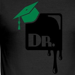 Mortarboard T-Shirts - Men's Slim Fit T-Shirt