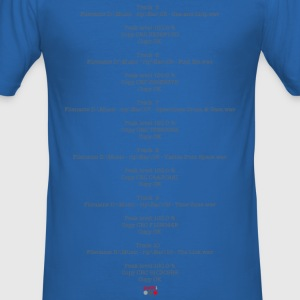 music rip logfile - Männer Slim Fit T-Shirt