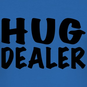 Hug Dealer T-shirts - Herre Slim Fit T-Shirt