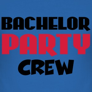 Bachelor Party Crew T-Shirts - Men's Slim Fit T-Shirt