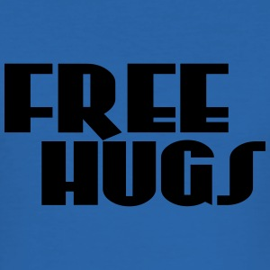 Free hugs T-Shirts - Männer Slim Fit T-Shirt
