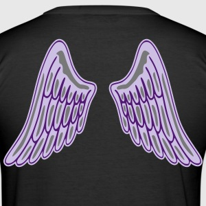 Angel Wings T-shirts - Herre Slim Fit T-Shirt