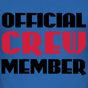 Official Crew Member T-shirts - Herre Slim Fit T-Shirt