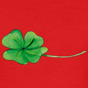 Good luck Clover T-shirts - Herre Slim Fit T-Shirt