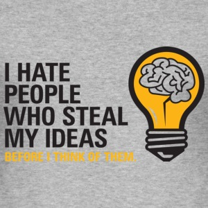 Steal My Ideas 2 (dd)++ T-Shirts - Men's Slim Fit T-Shirt