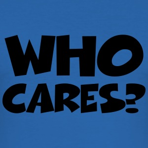 Who cares? T-skjorter - Slim Fit T-skjorte for menn