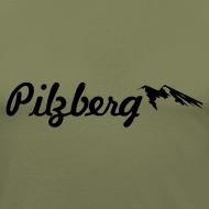 Motiv ~ Pilzberg (schwarzer Druck)