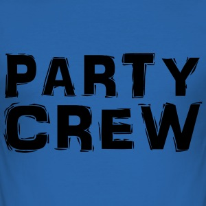 Party Crew T-shirts - Slim Fit T-shirt herr