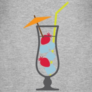 Glass Cocktail (dd)++ T-shirts - Herre Slim Fit T-Shirt
