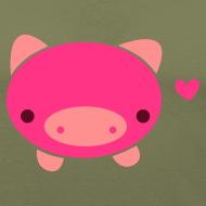 Design ~ Piggie T-Shirt Brown
