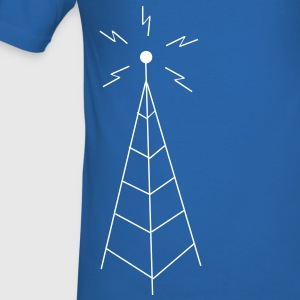 Transmission Tower Sendemast T-shirts - slim fit T-shirt