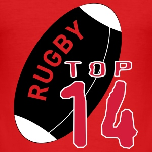 RUGBY TOP 14 - Tee shirt près du corps Homme