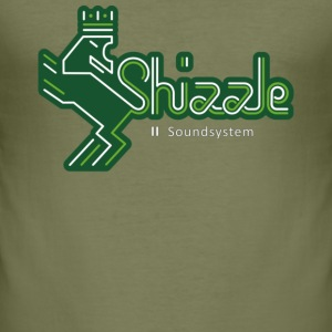 Shizzle Soundsystem T-Shirt Slim Fit Men - Männer Slim Fit T-Shirt