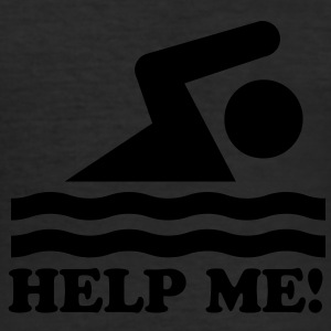 help me - Männer Slim Fit T-Shirt