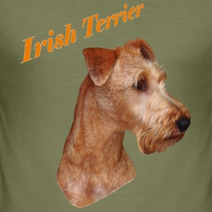 Shirt Irish Terrier - Männer Slim Fit T-Shirt