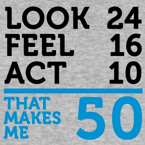 Look Feel Act 50 (2c)++ T-Shirts - Men's Slim Fit T-Shirt